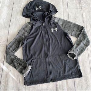 Under Armour black lightweight hoodie